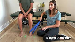 Tibialis Posterior Strengthening: Banded foot adduction
