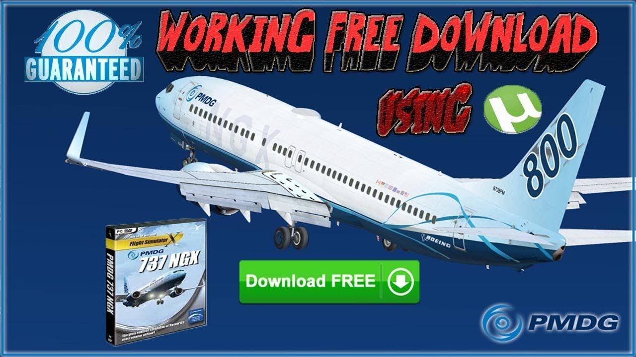 FSX- How to Install PMDG 737 NGX + Crack via Torrent