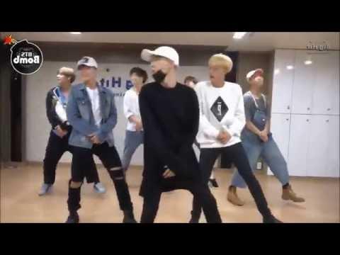 BTS Baepsae Dance Practice (Mirrored, Speed up)