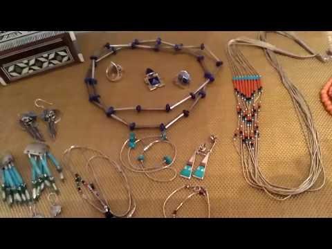 Украшения американских индейцев,Liquid Silver,(жидкое серебро)и неожиданная покупка.