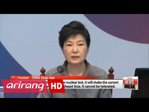 President Park highlights national security, upcoming Iran trip in Cabinet meeting