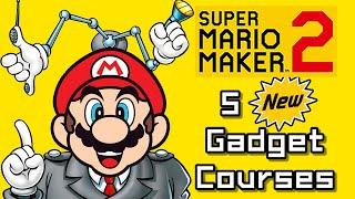 Super Mario Maker 2 Top 5 New GADGET Courses (Switch)