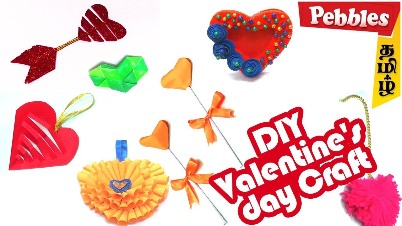 Valentine S Day Gift Craft Ideas For Kids In Tamil Easy Diy Craft