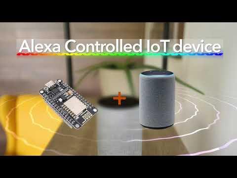 Esp8266 Alexa Control IoT Device