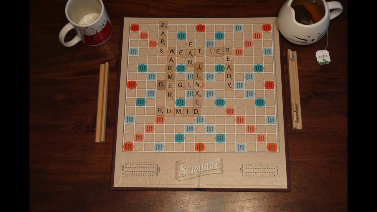 Death by scrabble by charlie fish