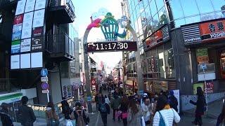原宿駅から竹下通りを通り東郷神社に参拝。 明治通り、裏原、表参道とぶ...