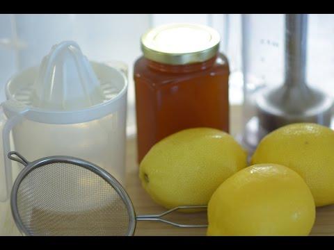 Homemade Lemonade HEALTHY NO REFINED SUGAR Just 3 ingredients!