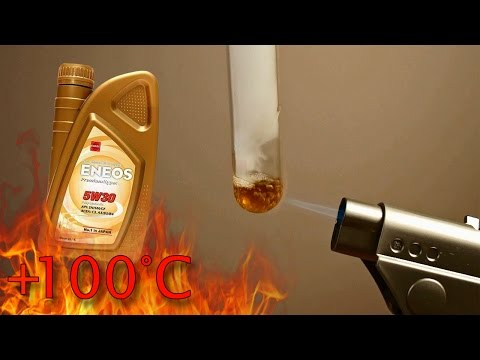 Eneos Premium Hyper Multi 5W30 Jak czysty jest olej silnikowy? Test powyżej 100°C
