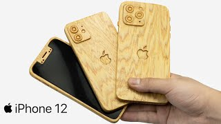 Apple Event   New Iphone 12 Wooden   Amazing Woodworking Project   Wood World