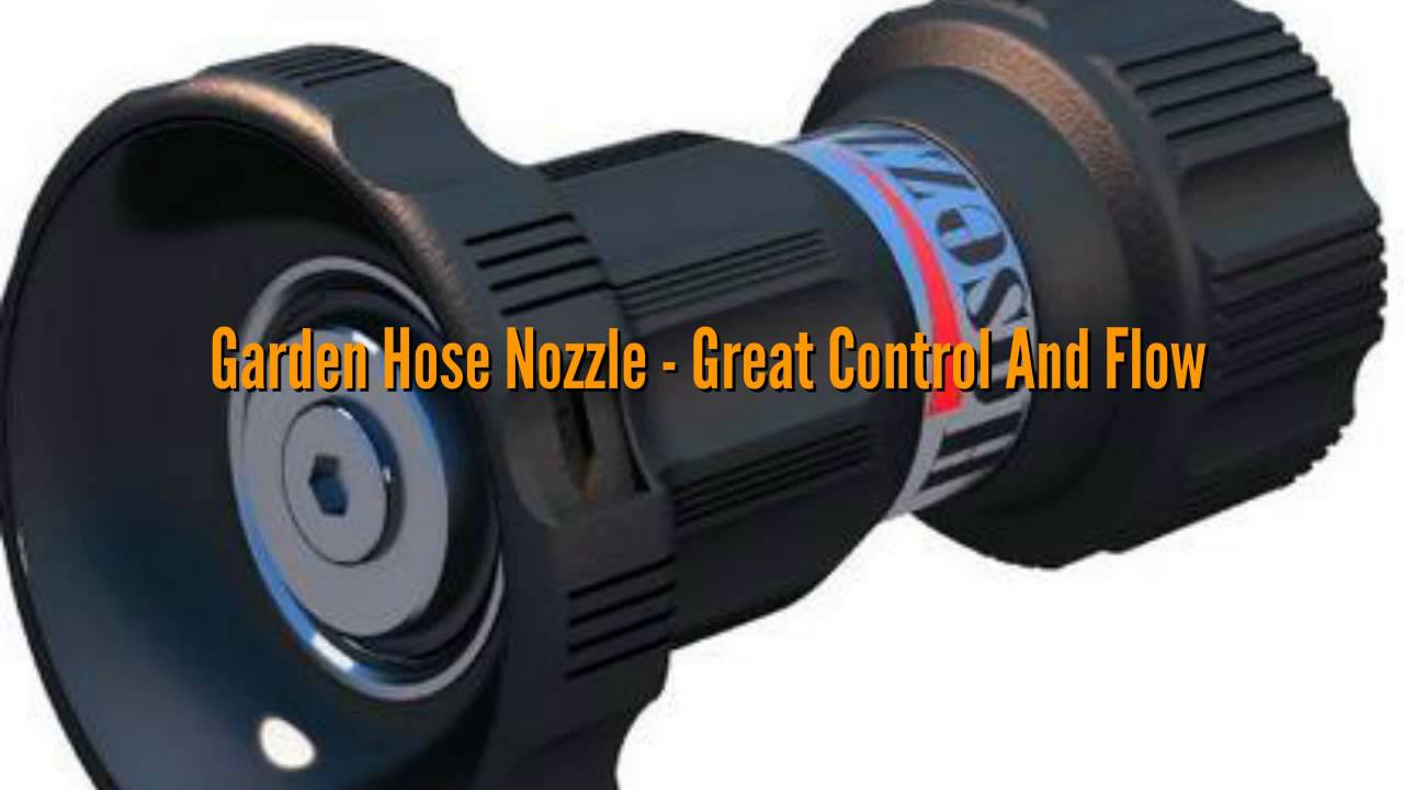Fire hose nozzle for garden nelson industrial high