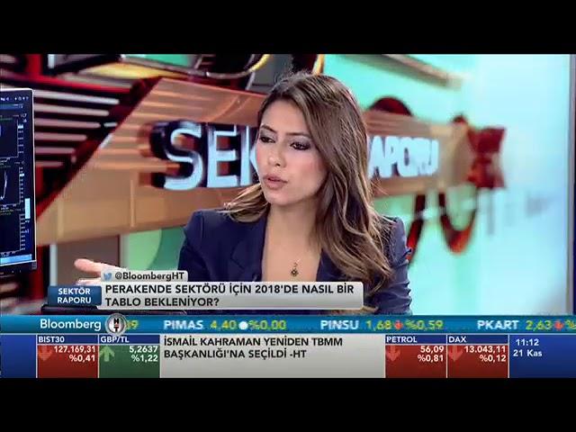 İstanbul Perder Başkanı Ramazan ULU Bloomberg HT Yayını