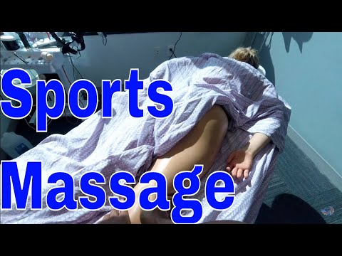 How to do a Post Sports Massage After Any Sports Event, Tutorial on Leg & Feet Massage Strokes.