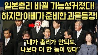 일본총리가 드디어 바뀐다! 아베가 준비해놓은 어이없는 인사!