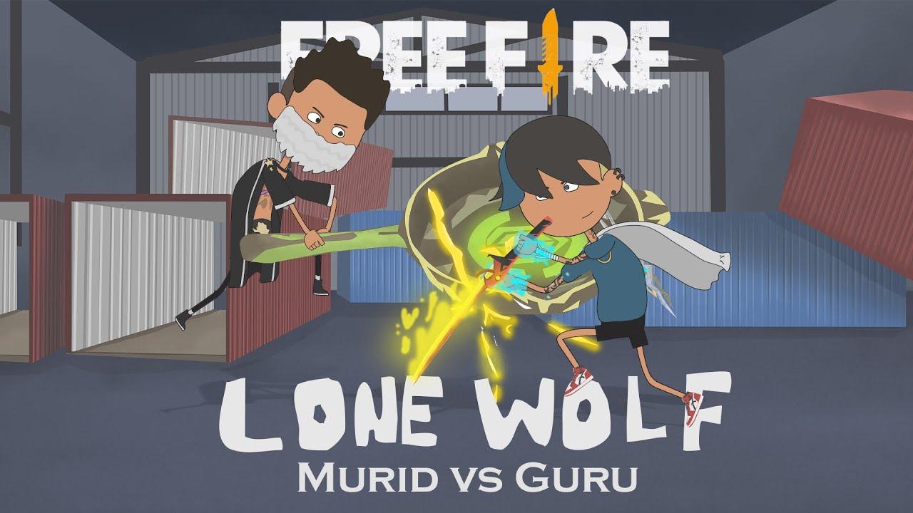 Guru vs Murid - lone wolf animasi free fire