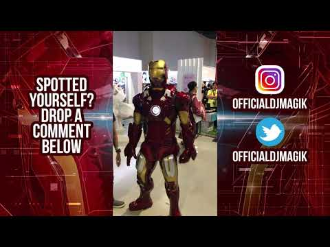 Apcc 2018 Asia Pop Comic Con Manila Ironman Killerbody Ironman Suit