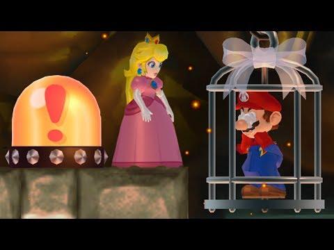 New Super Mario Bros. Wii - Peach wants to rescue Mario