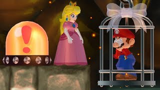 New Super Mario Bros. Wii - Peach wants to rescue Mario