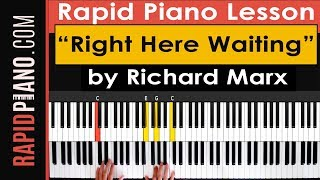 """How To Play """"Right Here Waiting For You"""" by Richard Marx - Piano Tutorial & Lesson (Part 1).mp3"""