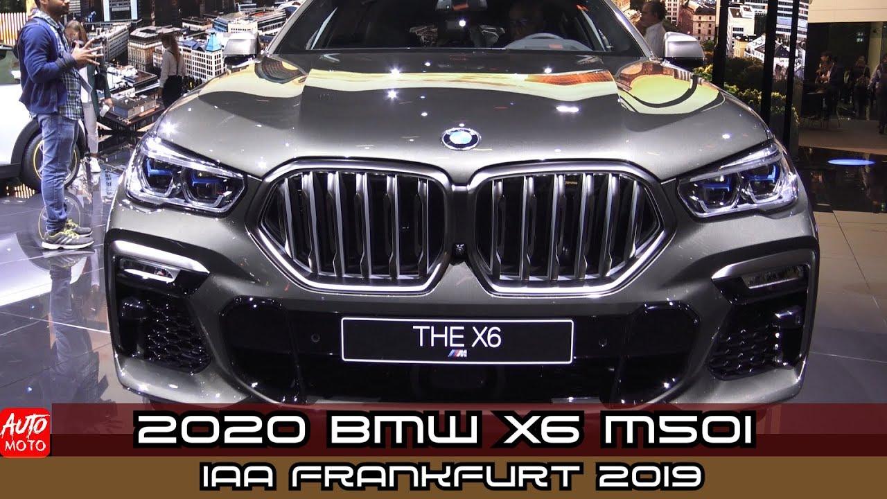 Frankfurt Auto Show 2020.2020 Bmw X6 M50i Exterior And Interior Debut At Frankfurt Motor Show 2019