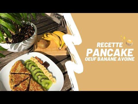 pancake---oeuf-banane-avoine