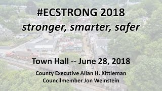 Ellicott City Flood Recovery Town Hall  June 28, 2018