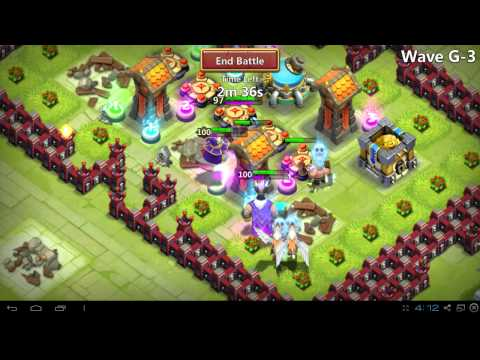 Castle Clash Wave G First Ever Attempt