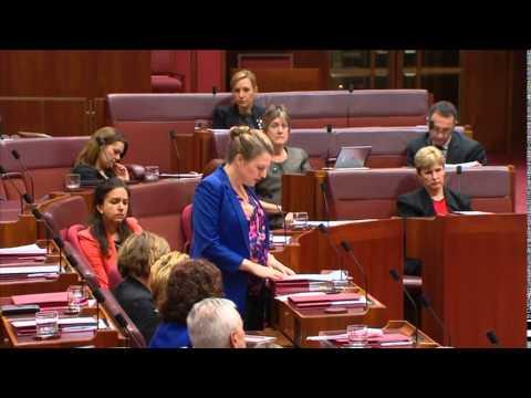 Senator Pratt Valedictory speech