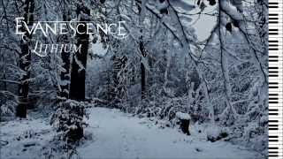 Evanescence - Lithium (Acoustic Version) - Piano Instrumental