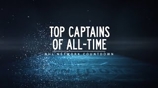 NHL Network Countdown: Top 25 Captains of All-Time