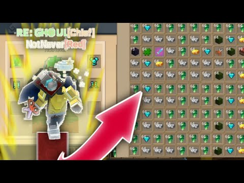 BEDWARS EXTRA FORGE ITEMS! [999+] 💰🤣 (Blockman Go:Blocky Mods)