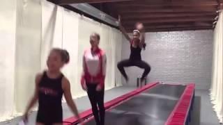 maddie ziegler mackenzie kendall nia kalani and jojo do tumbling at aldc dance moms