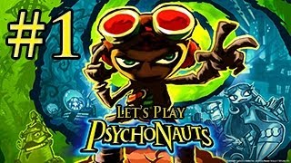 Let's Play: PsychoNauts Gameplay Walkthrough   Part 1   SUMMER CAMP BEGINS!