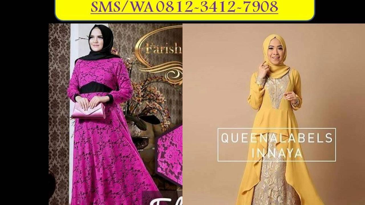 Inspirasi Model Baju Wanita Muslim 2017 Gamis Syari