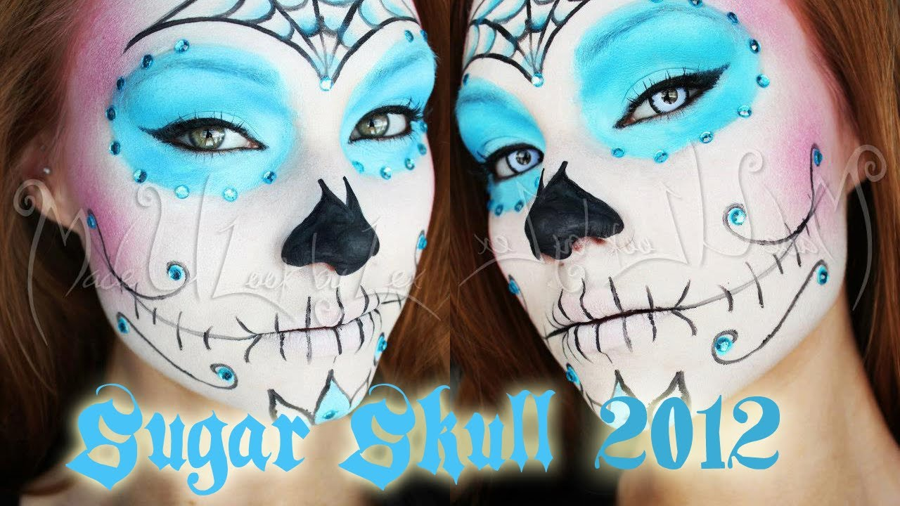 Request Sugar Skull Makeup Tutorial Option One Youtube