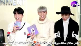 (Arabic Sub) B.A.P TV Reenacting Reply 1988, Who Is The King Of Charm