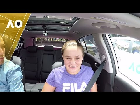 Ashleigh Barty: Kia Open Drive | Australian Open 2017