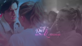 betty jughead   start a riot 1x13