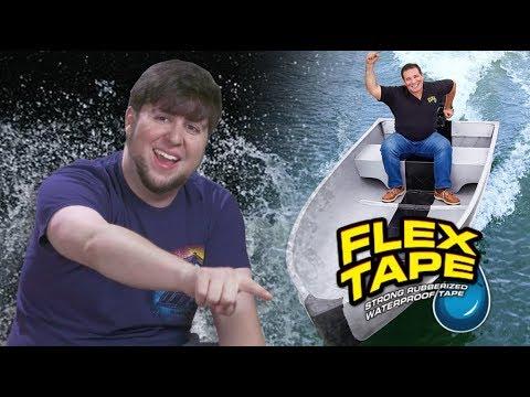 Waterproofing My Life With FLEX TAPE - JonTron