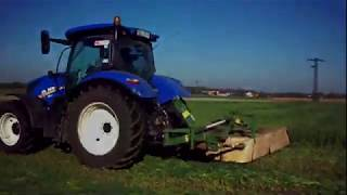 OWIES NA KISZONKĘ 2019 GR KRAWCZYK / NEW HOLLAND T6.180 / KRONE / CASE IH 1455 XL / POTTINGER / REMA