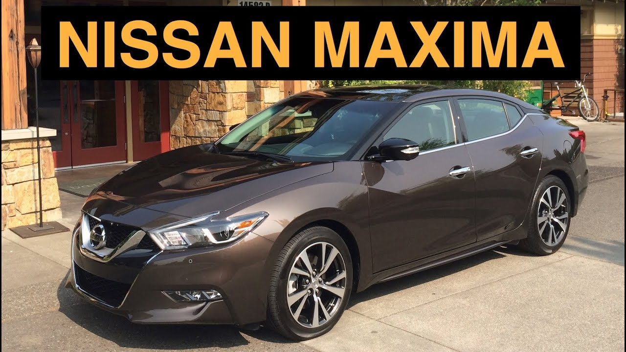 2016 Nissan Maxima Sr Review Amp Test Drive Youtube