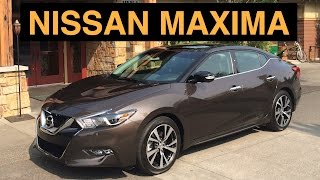 2016 Nissan Maxima SR - Review & Test Drive