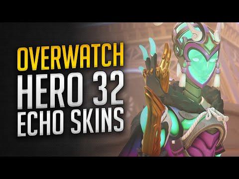 Overwatch Hero 32 Echo Skins + Cosmetics   Echo Skins Spotlight