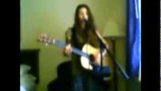 "Staind - ""Outside"" - Acoustic Cover by Jessica Haeckel of Gemiinii Riisiing"