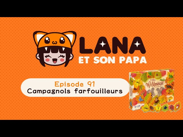 Lana et son papa 91 - Campagnols Farfouilleurs/Wühlmäuse