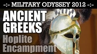 Ancient Greek Hoplites Reenactment Military Odyssey 2012   HD Video