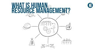 Human resource management is the formal systems designed to manage people in an organization. like a pinwheel, of...