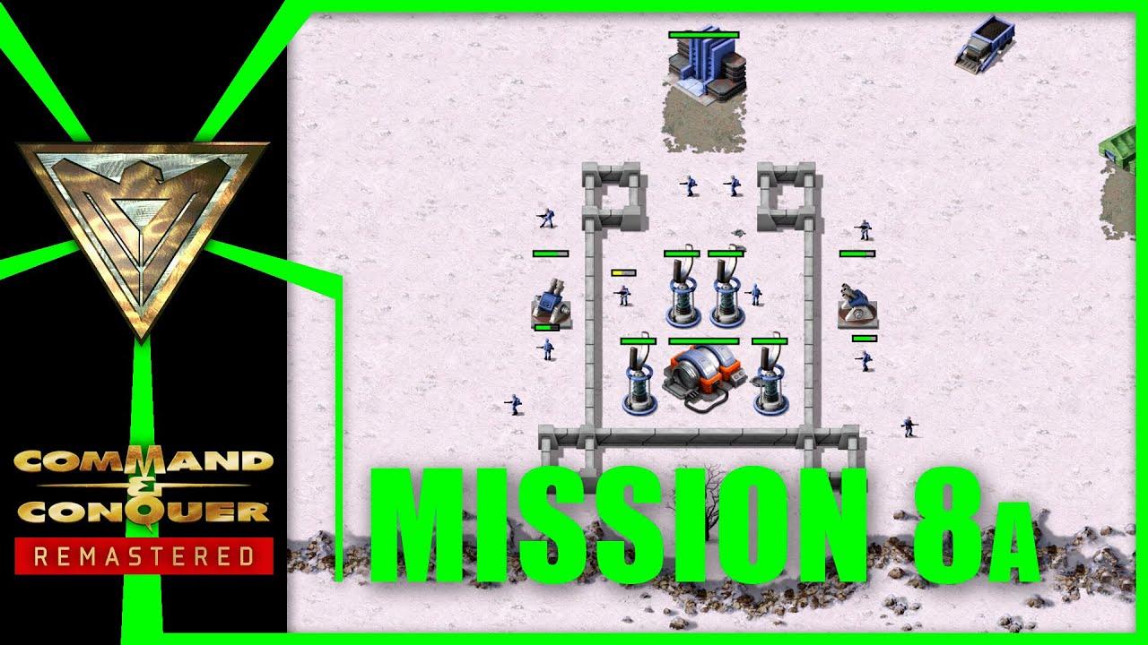 Alliierte 8: Schutz der Chronosphäre (Westen) | Command & Conquer Remastered: Alarmstufe Rot
