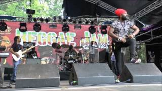 Fantan Mojah - 3/3 - Rasta Got Soul + Only Jah Love - Reggae Jam 2015
