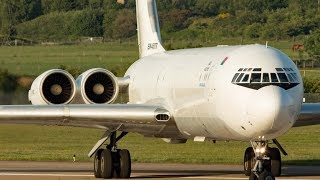 *RARE* Ilyushin Il-62 Departure To TRIPOLI From DONCASTER AIRPORT (UK)