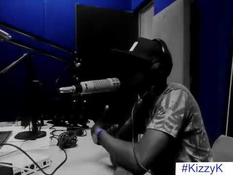 Kizzy K-Freestyling live on radio